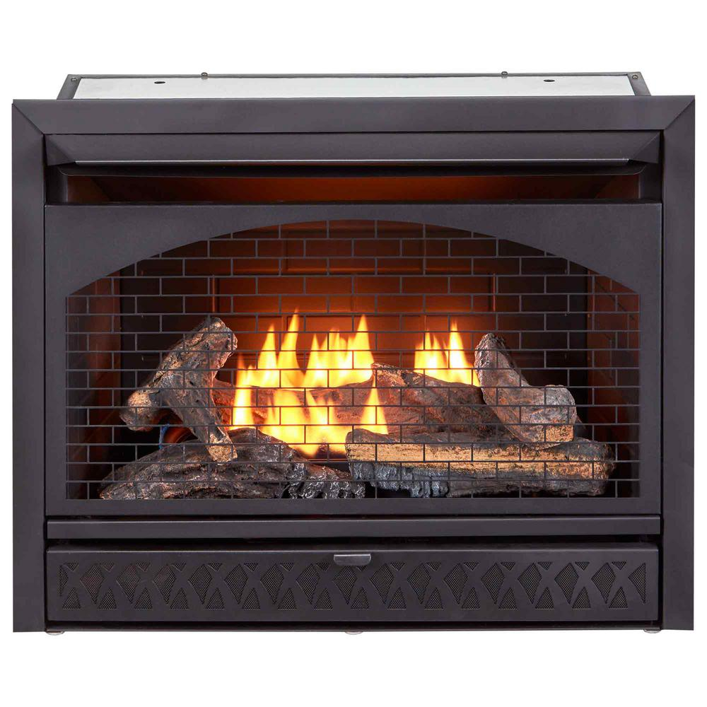 photo of gas fireplace insert